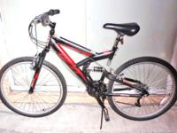 "DOUBLE SUSPENSION MOUNTAIN BIKE, 26"", ""NEXT PX 6.0"", 18"