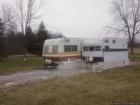Nice joined  camper/ home. Rear small camper completely