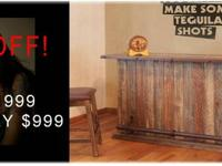 custom solid wood dining sets, real wood gars, bar