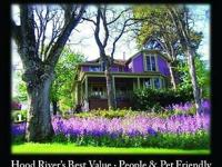 River Views in Hood River's Historic District, in an