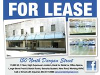 AVAILABLE FOR LEASE IMMEDIATELY DOWNTOWN HISTORIC