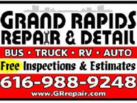 Truck, bus auto and motorhome repair  lift your vehicle