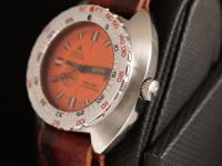 The Doxa watch company pioneered civilian diving
