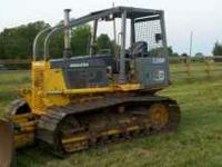 1998 D39P with 24inch shoes and 6 way blade. Dozer has