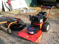 I have for sale a DR feild and brush mower which also