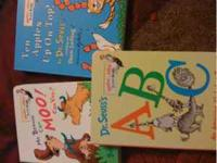 I am selling these 3 Dr. Seuss hardback books for your