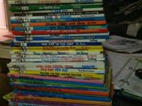 Lot of Dr. Seuss books approx. 50 in lot in great