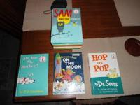 I have 14 Dr. Suess books for sale. Call . Location: