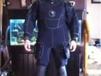 Barley used Waterproof brand dry suit still in perfect