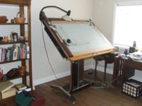 Mayline Future-matic professional drawing table. 36X60
