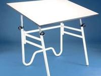"White Drafting Table 28""X42"" usually $165.00 now for"