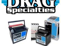 Drag Specialty Batteries. We carry all types: