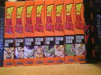 I have the complete collection of dragon ball z seasons