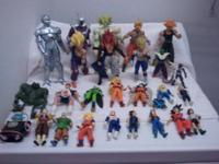 Selling all my Dragonball Z Action figure