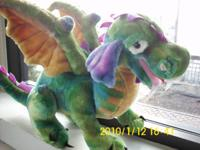SPECIAL SHIPMENT - Melissa & Doug Plush Dragon - Only 3