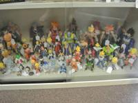 DRAGONBALL Z FIGURES FROM IRWIN, BANDAI, AND JAKKS,