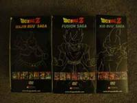Currentlly have three Dragonball Z DVD Box set's that i