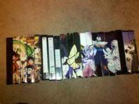 I am selling my Dragonball Z tapes for $3.00 each. I