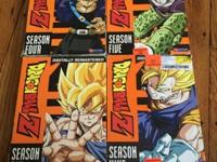 DragonBallZ season 4,5,6,9 complete disk set. Buy 1 for