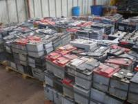 Drained Car Batteries READY FOR SHIPMENT AT A DISCOUNT
