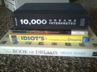 Bundle of 4 dream interpretation books: $15  Bundle of