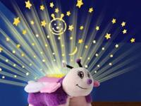 The Dream Lites Pillow Pet is a night light that turns