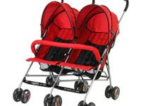 The Dream On Me Side by Side stroller is a rugged, but