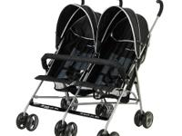 Dream On Me side-by-side stroller is a rugged but