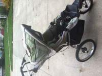 This is a great jogging stroller and I have used it for