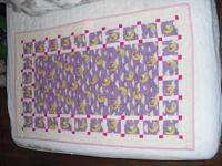 Sweet child girl quilt- This quilt features sweet