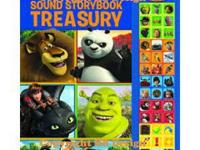 DreamWorks Sound Storybook Treasury is a play-a-sound