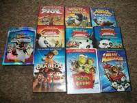 This is a great deal of 10 Dreamworks animation DVDs.