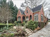 Dreamy storybook tudor in Morningside featuring modern