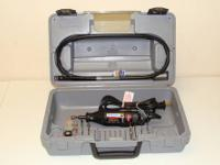 Up for sale is a 5 Variable speed Dremel Tool kit. It
