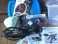 dremel tool with accessories, multipro single speed,