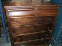 This dresser is solid and sturdy. Could be great for a
