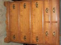 solid wood cherry excellant condition no email!!!!!!