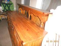 I have a 6 drawer dresser.(solid Pine) and matching