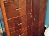 Late 20's or very early 30's Dresser (with chair,