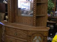 DRESSER MIRROR $75, DRESSER MIRROR AND NIGHT STAND $100