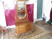 I have several dressers for sale, all with mirrors