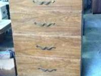 Dresser with very deep large drawers. All real wood,