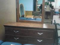 Very nice dresser and mirror it has 6 drawers $199.99