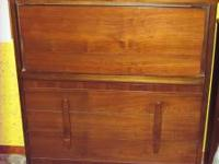 Have a pair of vintage dressers, one with a big mirror.