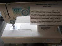 LIKE NEW ..... A Dressmaker Sewing Machine Model JH653