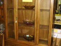 China Cupboard $399. Table with 6 Chairs $399.