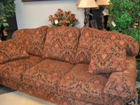 Delicately made use of Drexel Ancestry couch. Initially
