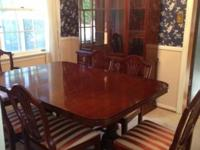 Drexel New Hampton Court Collection Dining Set. Drexel