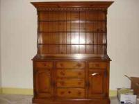 Beautiful 1950's Drexel Pine Hutch $400 and a 1940's