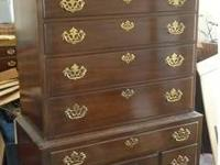 Drexel 2-Piece Queen Anne Dresser - 18th Century